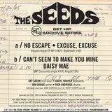 Seeds - No Escape / Excuse / Can't Seem to Make / Daisy Mae EP w/ PS