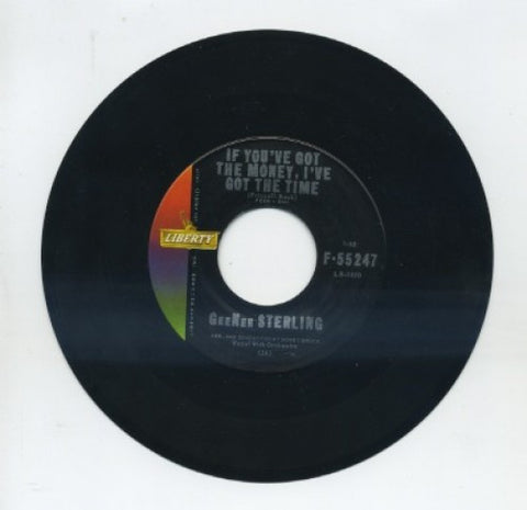 GeeNee Sterling - If You've Got The Money, I've Got The Time/ Mama Don't Tell Me