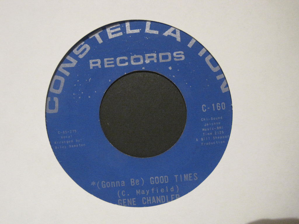 Gene Chandler - (Gonna Be) Good Times b/w No One Can Love You (Like I Do)
