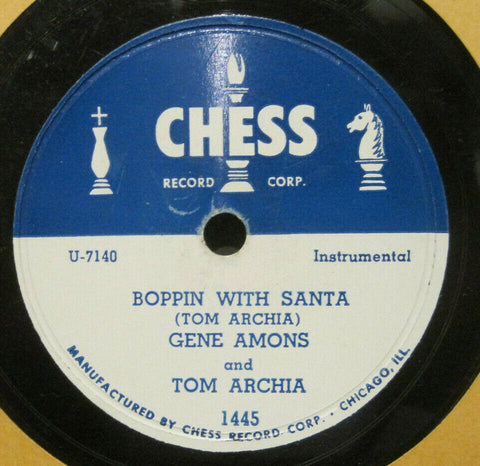 Gene Ammons & Tom Archia - Boppin' with Santa b/w Talk of The Town