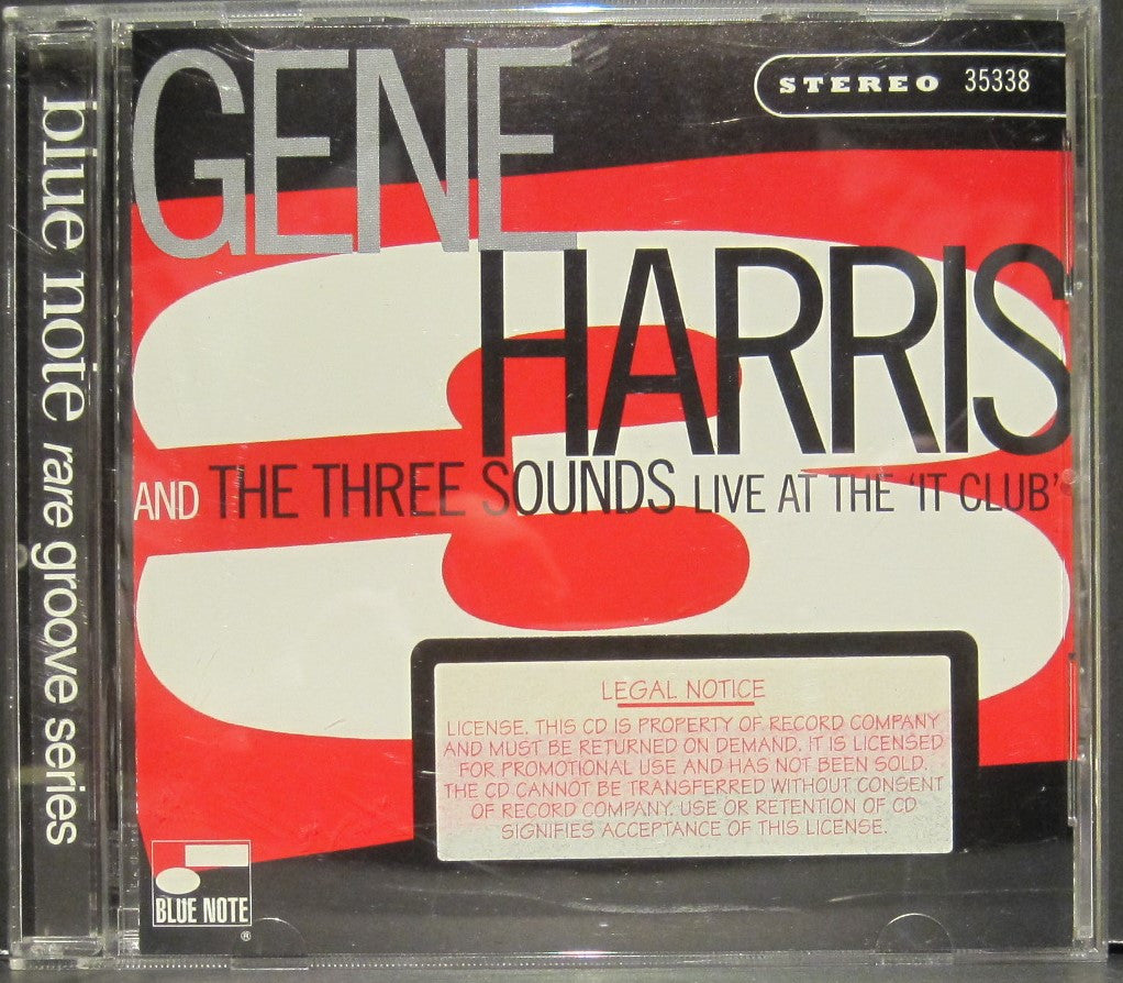 Gene Harris & The Three Sounds Live at The 'It Club'