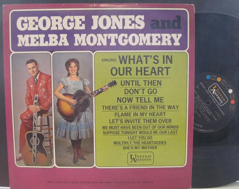 George Jones & Melba Montgomery - What's In Our Heart