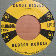 George Morgan - Candy Kisses b/w Rockabilly Bungalow