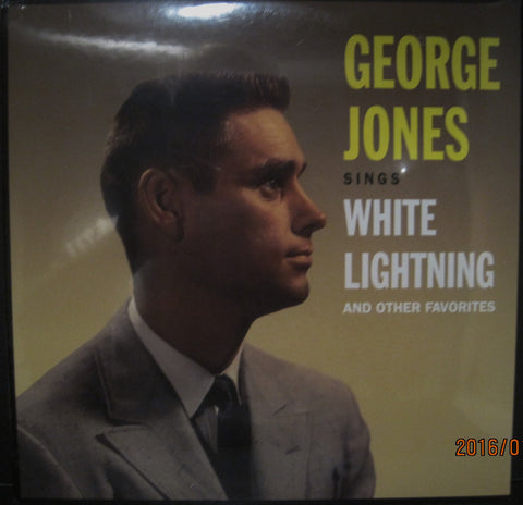 "George Jones ""White Lightning and Other Favorites"""