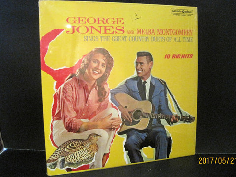George Jones & Melba Montgomery - Sings The Great Country Duets of All Time