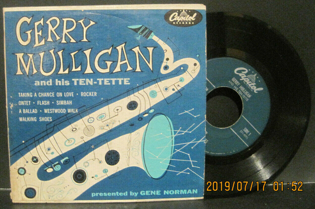 Gerry Mulligan and His Ten-Tette Two Ep Set