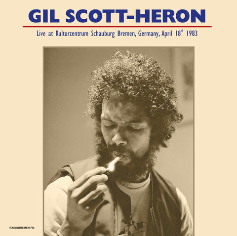 Gil Scott-Heron LIVE in Germany 1983 - 180g 2 LP import