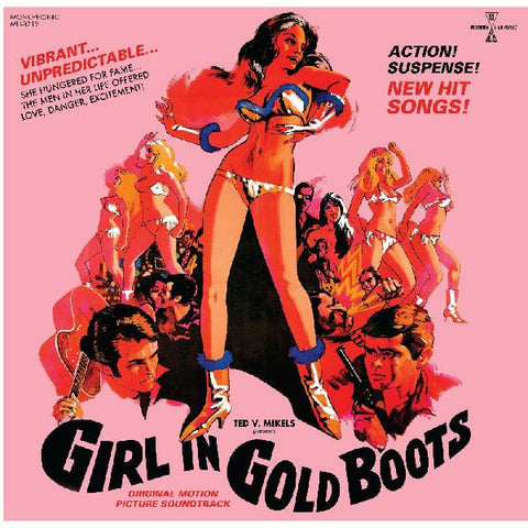 Girl in Gold Boots - Motion Picture Soundtrack on LTD colored vinyl w/ DVD!