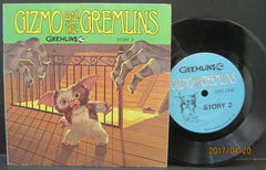The Gremlins - Gizmo and The Gremlins Story 2 Read-Along Book and Record