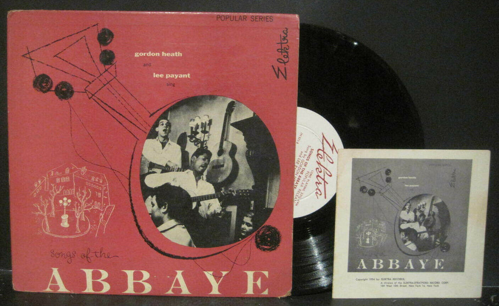 Gordon Heath and Lee Payant - Songs of The Abbaye 10""