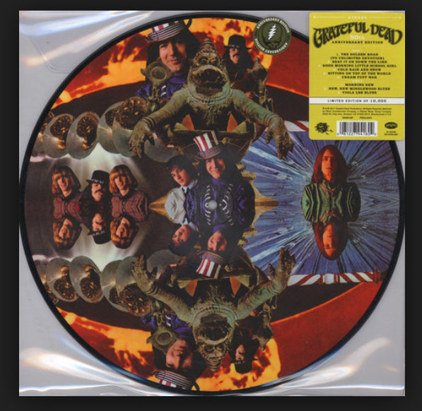 Grateful Dead - Debut Album - Limited Edition PICTURE DISC LP