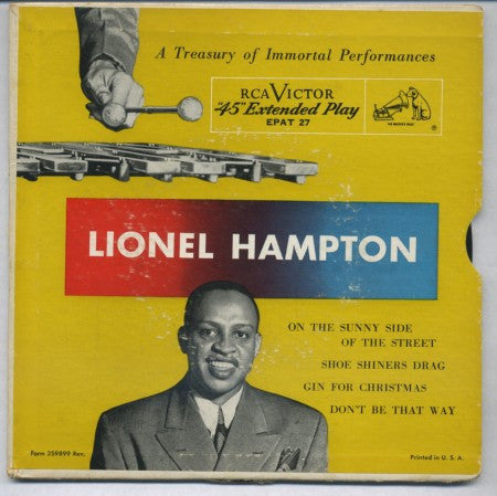 Lionel Hampton - On the Sunny Side of the Street / Show Shiner's Drag/ Gin for Christmas / Don't Be That Way