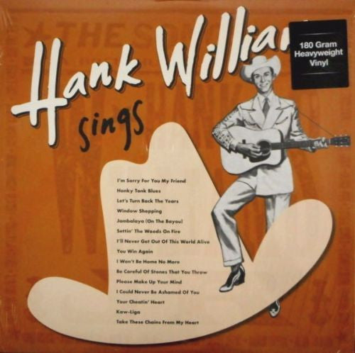 Hank Williams - Sings - 180g import