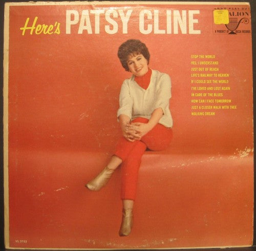 Patsy Cline - Here's Pasty Cline