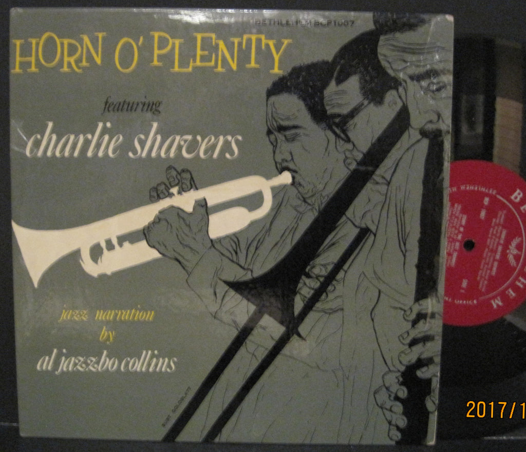 Charlie Shavers and Al Jazzbo Collins - Horn O' Plenty 10""