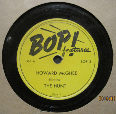 Howard McGhee - The Hunt b/w Sonny Kriss - The Hunt