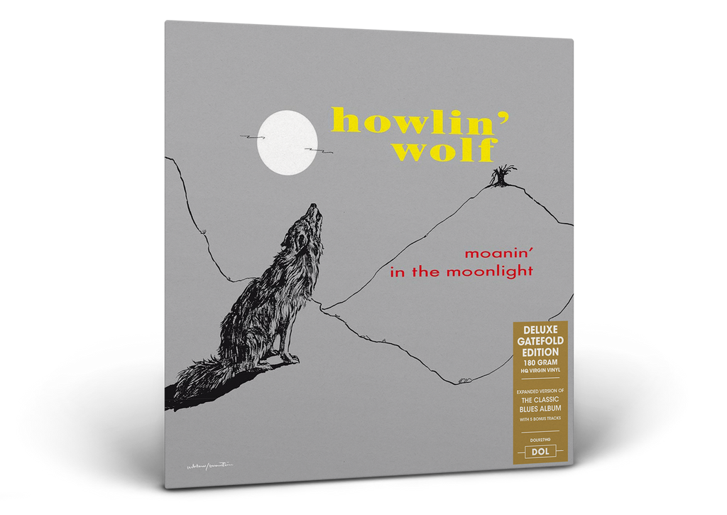 Howlin' Wolf - Moanin' in the Moonlight - 180g LP w/ gatefold & 5 bonus
