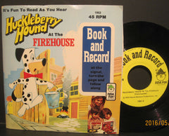 Huckleberry Hound at The Firehouse - Peter Pan Book and 45rpm