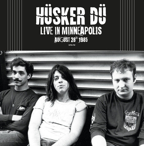 Copy of Husker Du - Live in MN 1985 - import 180g on colored vinyl