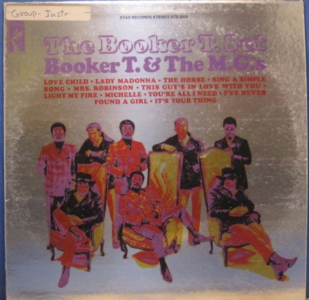 Booker T. & the MG's - The Booker T. Set (Promo)