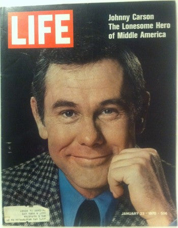 Life - Jan 23, 1970/ Johnny Carson/