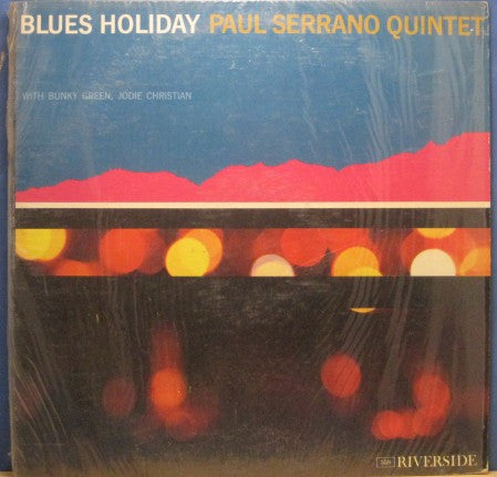 Paul Serrano - Blues Holiday