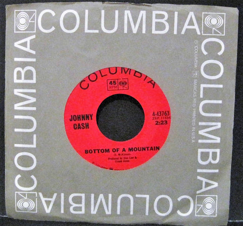 Johnny Cash - Bottom of a Mountain b/w Boa Constrictor