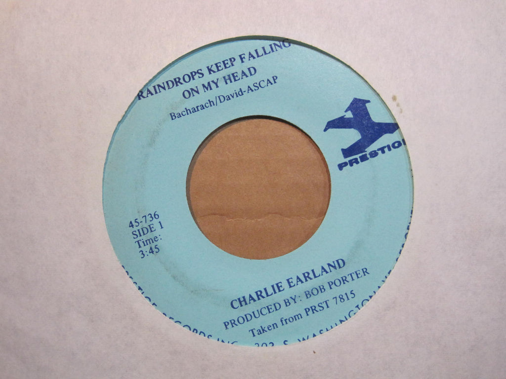 Charlie Earland - Raindrops Keep Falling On My Head / Sing A Simple Song