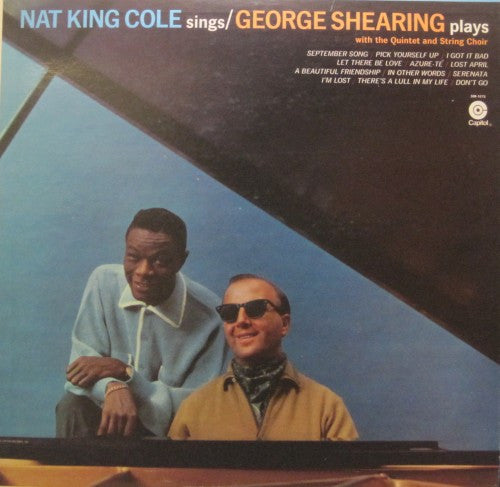 Nat 'King' Cole - with George Shearing