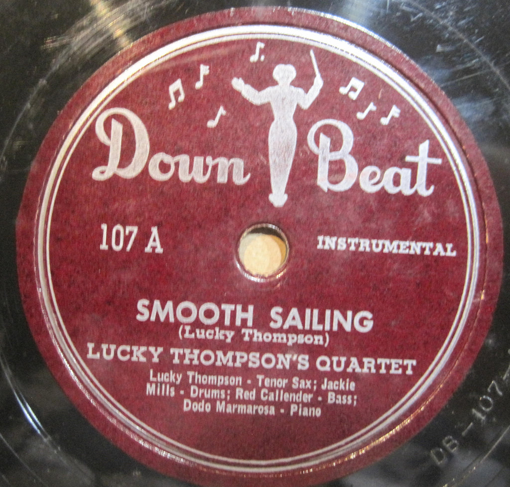 Lucky Thompson Quartet - Smooth Sailing b/w Commercial Eyes