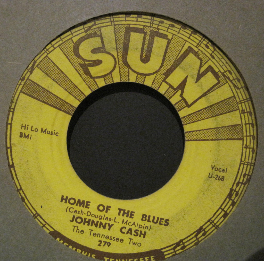 Johnny Cash - Home of The Blues b/w Give My Love To Rose