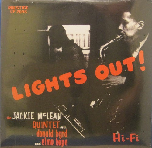 Jackie McLean - Lights Out!