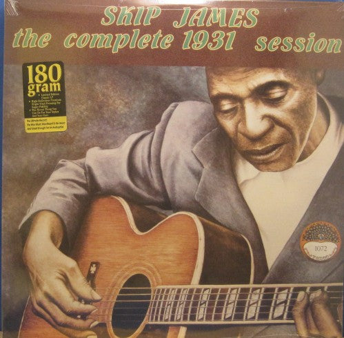 Skip James - The Complete 1931 Session 180g