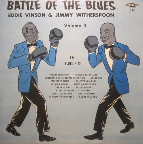 Eddie Vinson & Jimmy Witherspoon - Battle of the Blues Vol. 3
