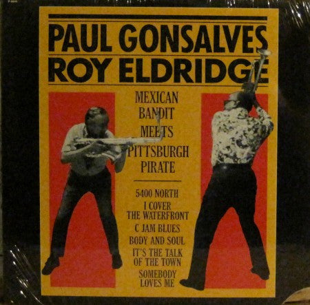 Paul Gonsalves & Roy Eldridge - The Mexican Bandit Meets the Pittsburgh Pirate