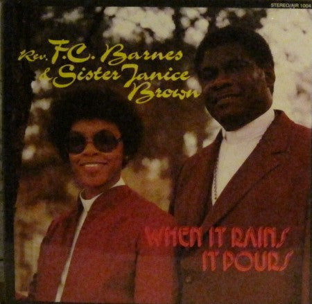 Reverend F.C. Barnes - When it Rains it Pours