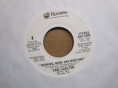 Carl Carlton - Morning, Noon and Nightime - Promo