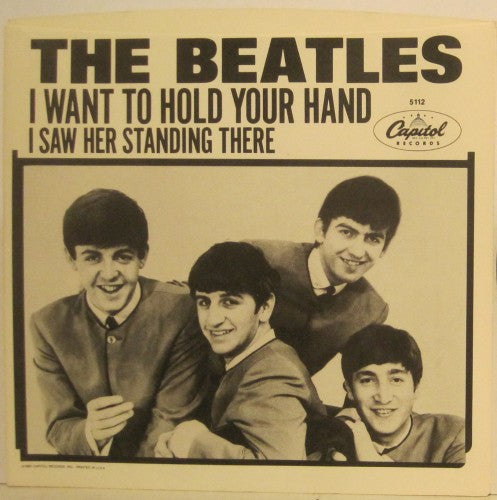 Beatles - I Want to Hold Your Hand/ I Saw Her Standing There
