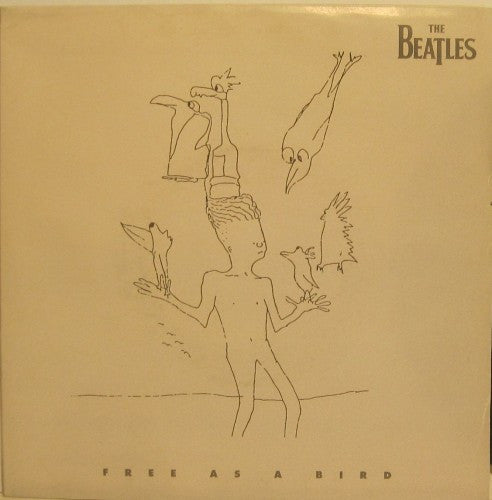 Beatles - Free as a Bird / Christmas Time (Is Here Again) w/ PS