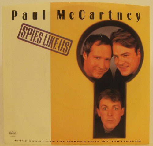 Paul McCartney - Spies Like Us/ My Carnival