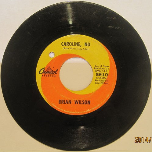 Brian Wilson - Caroline, No / Summer Means New Love