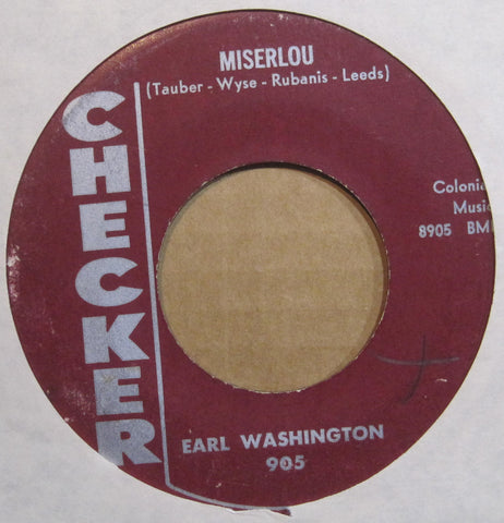 Earl Washington - Miserlou b/w Wolf Call