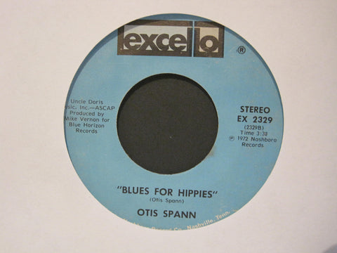 Otis Spann - Blues For Hippies b/w Bloody Murder