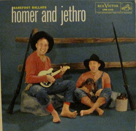 Homer and Jethro - Barefoot Ballads
