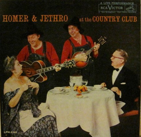 Homer & Jethro - At the Country Club