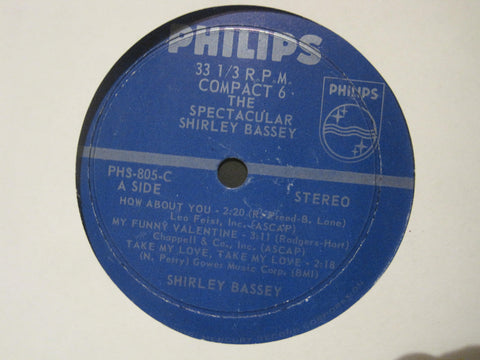Shirley Bassey - The Spectacular Ep