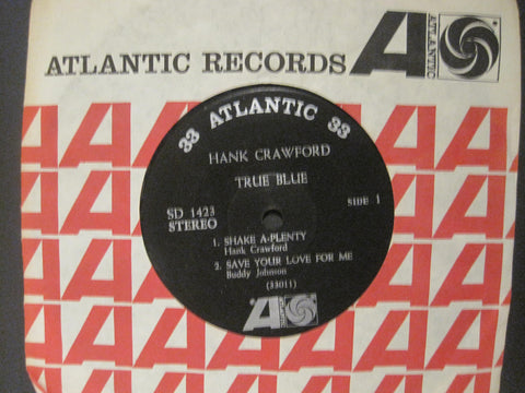 Hank Crawford - True Blue Ep