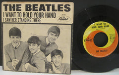 Beatles - I Want To Hold Your Hand b/w I Saw Her Standing There  PS