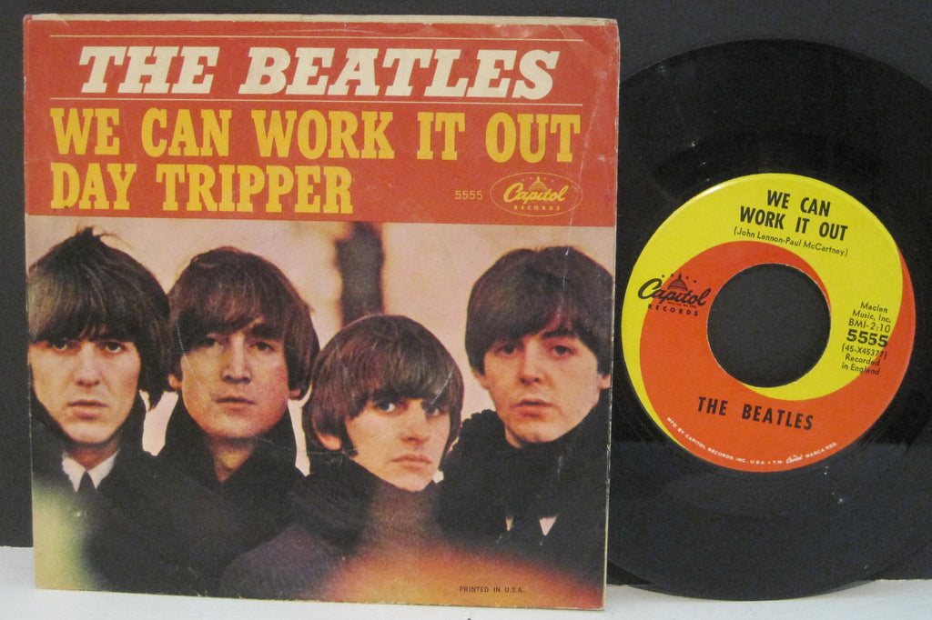 Beatles - We Can Work It Out b/w Day Tripper  PS