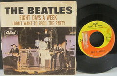 Beatles - Eight Days A Week b/w I Don't Want To Spoil The Party PS